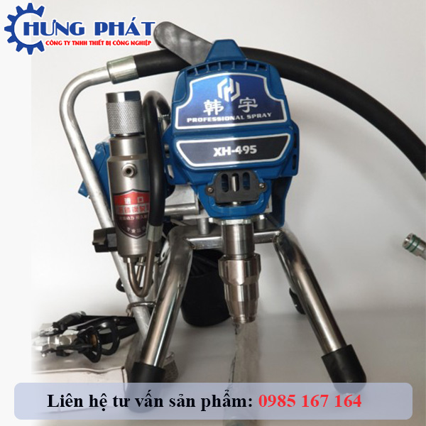 Máy phun sơn dầu - phun sơn epoxy XH495 chính hãng giá tốt
